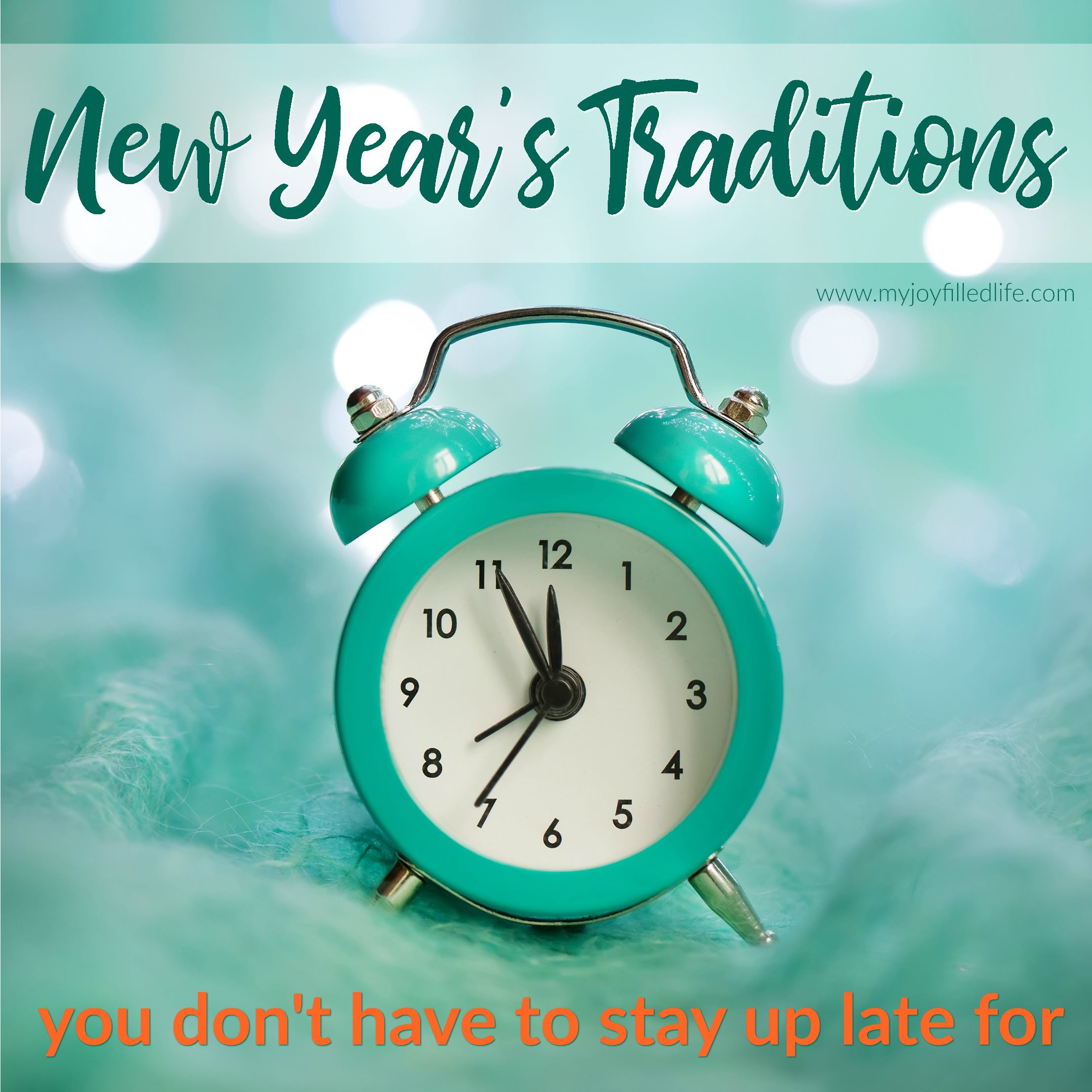New Year's Traditions You Don't Have to Stay Up Late For